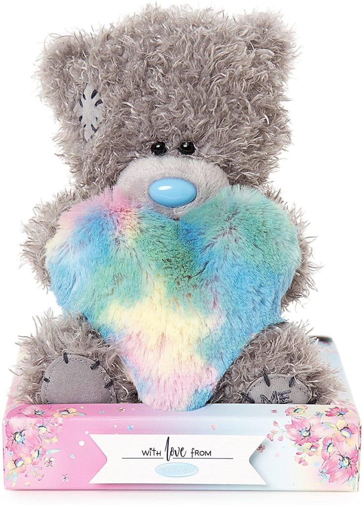 Tatty Teddy Rainbow Heart