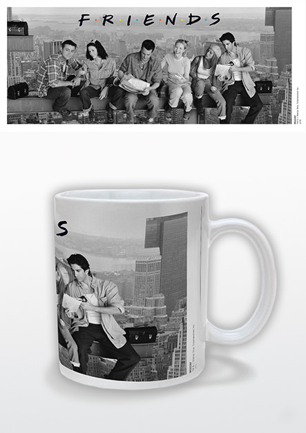 "Friends mug - ""Black and White Image"""