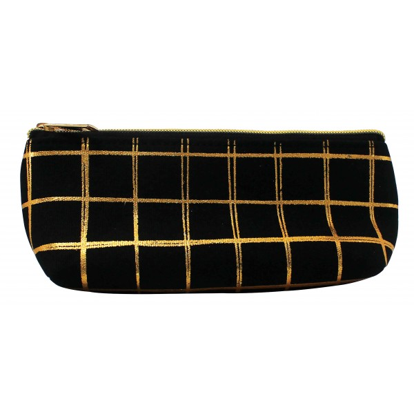 Black and Gold Pencil Case