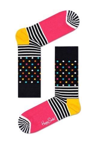 Multicoloured Polka Stripe Happy Socks