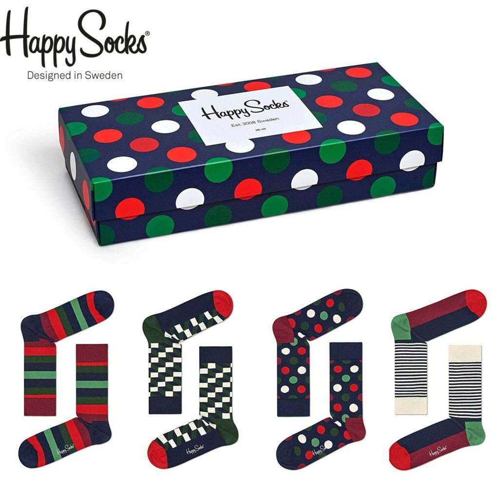 Mix Socks Gift Box 4 Pack