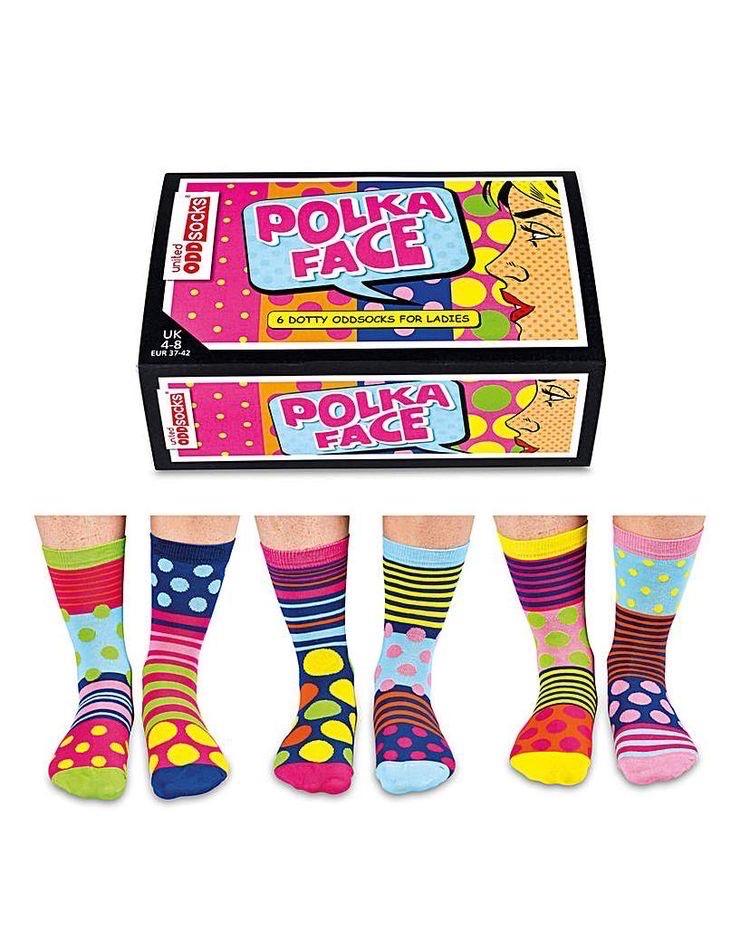 Odd Socks | Polka Face