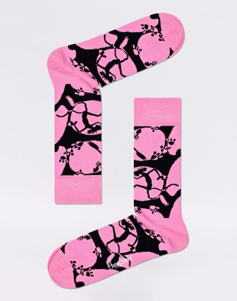 Pink Panther Pink-A-Boo Socks
