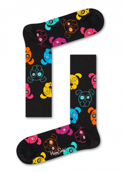 Happy Puppy Socks