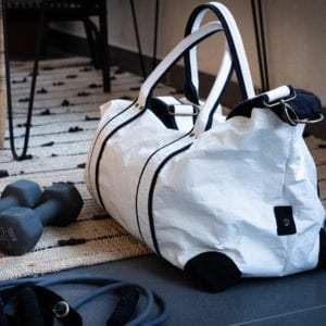 Wren_White Travel Bag